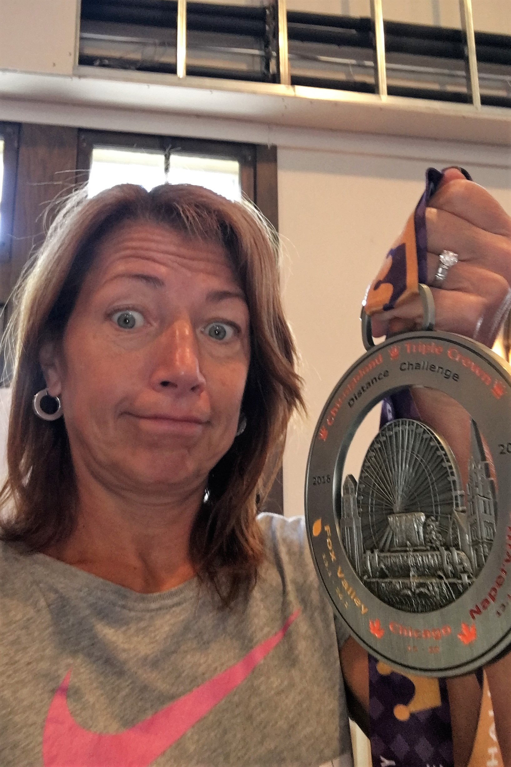 Holy Moly, That's One Big Medal!