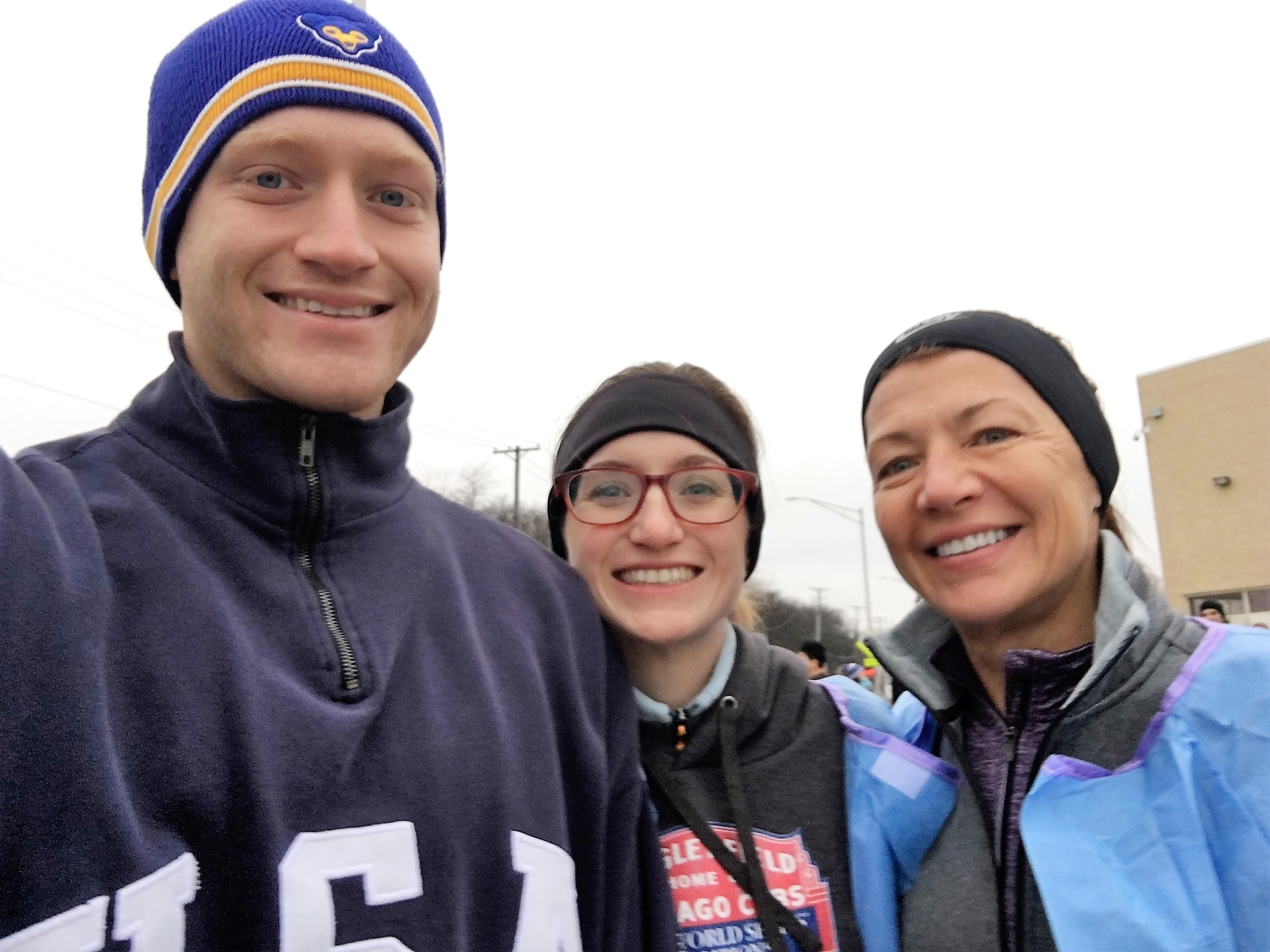 Pre-Turkey Trot with Mark and Holly 2016